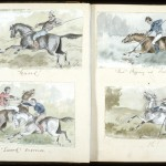 The is an example of the quality we were able to achieve by scanning the old access copies of the Bullock Webster sketches.
