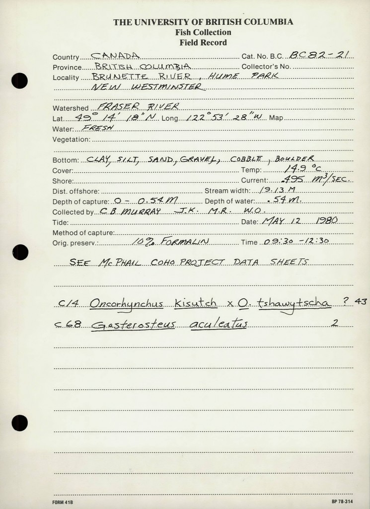 UBC_Institute_of_Fisheries_Field_Record_BC_8221