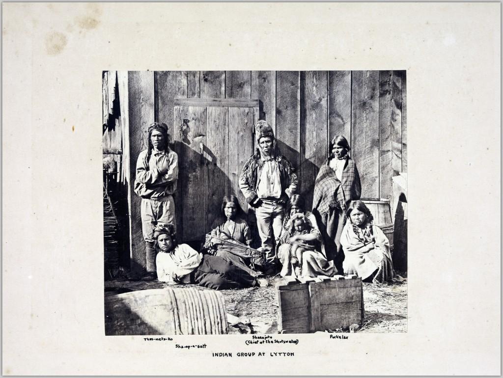 Indian group at Lytton
