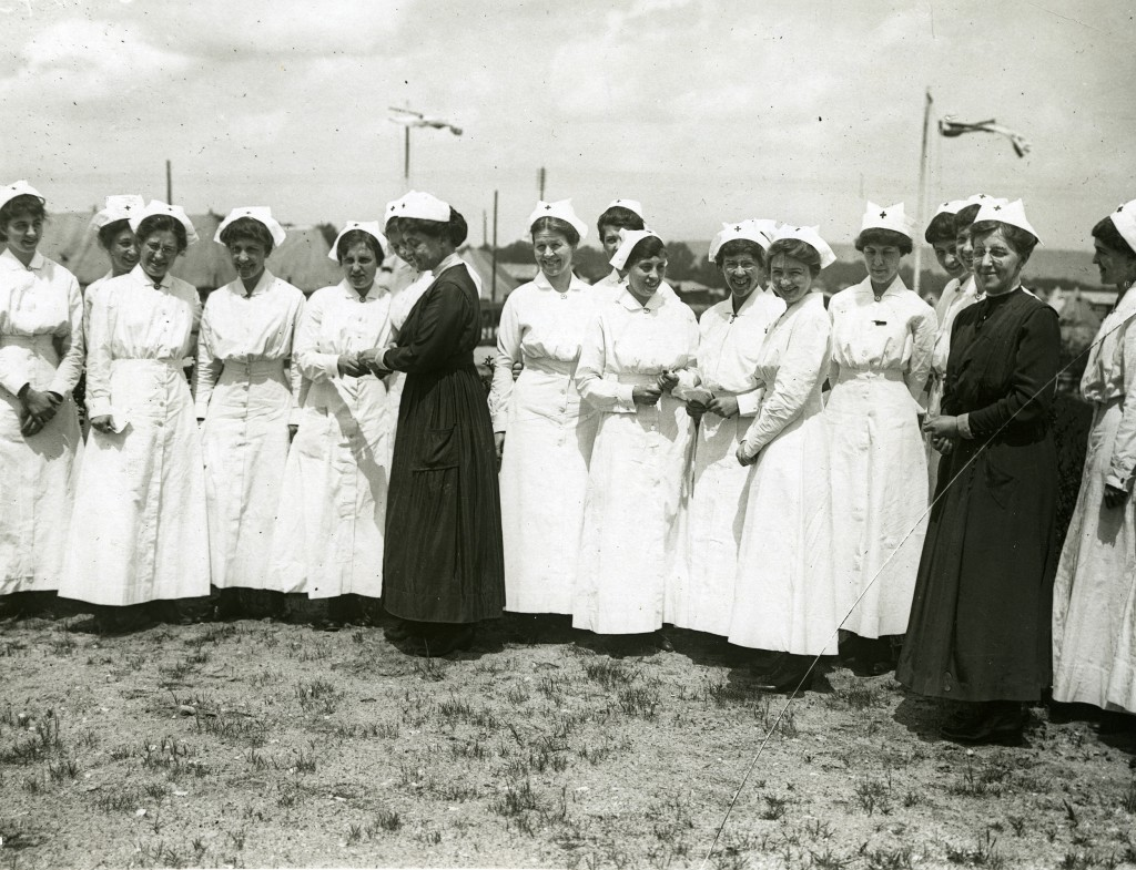 A few of the American nurses at the front