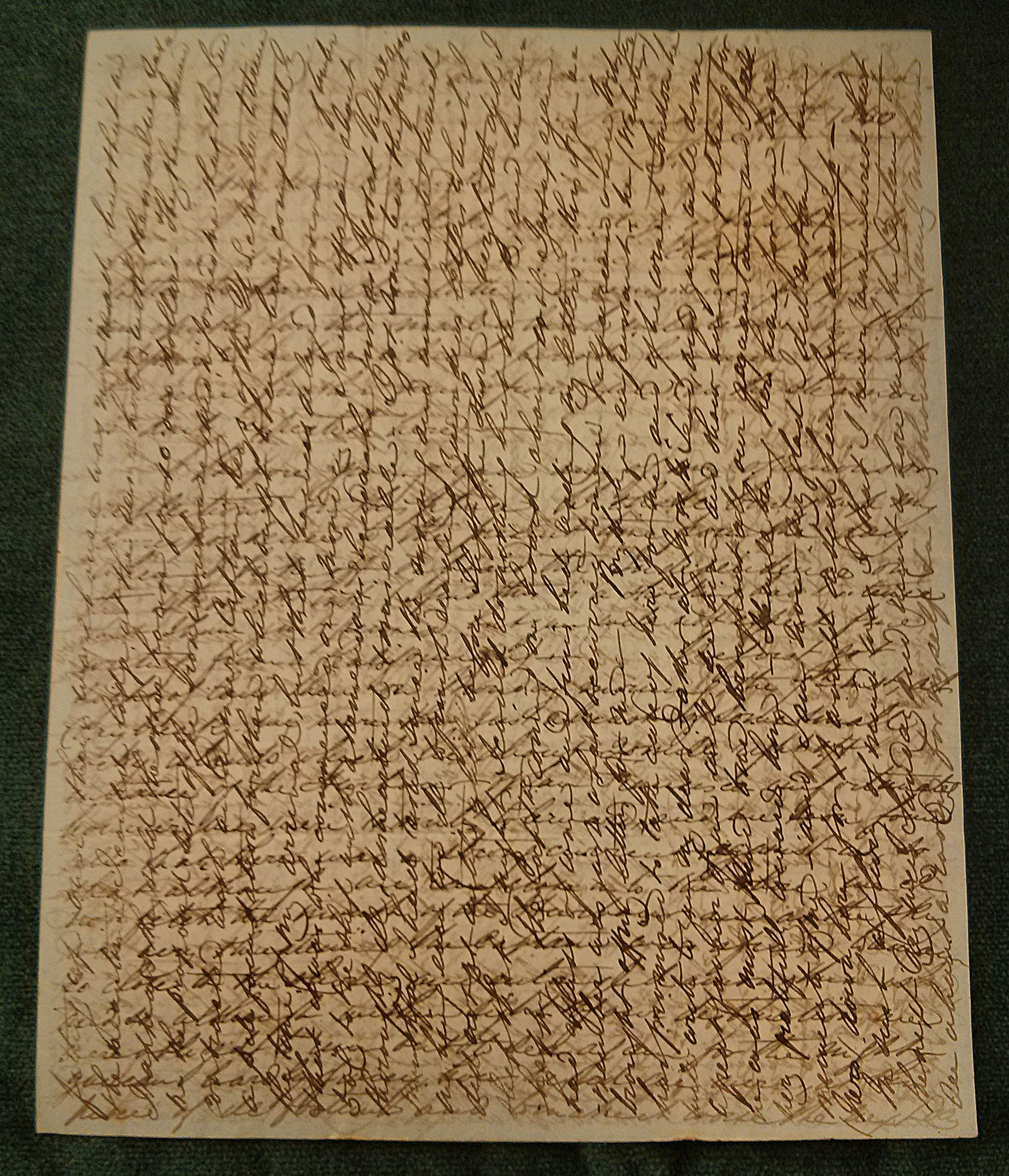 crosshatch writing