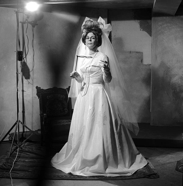 "Joy Coghill in costume from production of ""The Visit"" 1964"