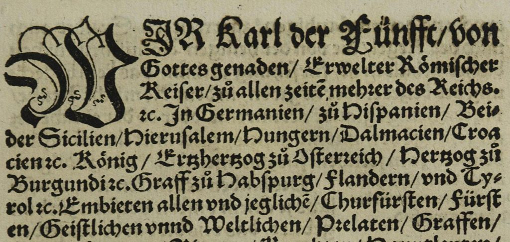 Typography in early printed books | Digitization Centre